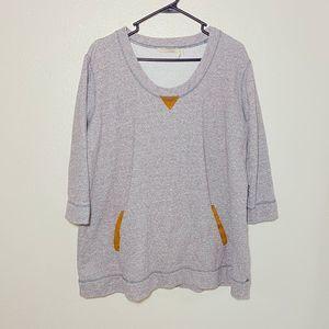 Soft Surroundings Gray  Sweatshirt
